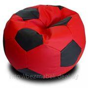 """Кресло """"Мяч"""" """"Красный с черным"""" фото"""