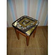 Чехол - сидушка на табуретку фото