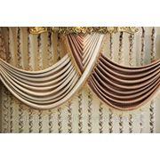 Пошив штор с ламбрекенами фото