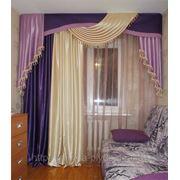 Дизайн и пошив штор на заказ фото