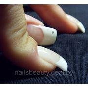 Наращивание ногтей гелем с дизайном фото