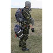 Система парашютная десантная ДПС для выполнения учебно-тренировочных и боевых прыжков выполняемых десантниками всех специальностей с полным табельным вооружением и снаряжением (или без него) из военно-транспортных самолетов и вертолетов фото