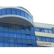 Клининг Высотный - Мойка окон, Витражей, Вывесок, Рекламных мест, Промышленных конструкций и др. фото