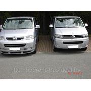 Аренда микроавтобусов VIP-класса Volkswagen Саravelle Т5 с водителем. фото