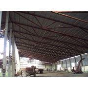 Оборудование для ферм металлоконструкции навесы крыши фото