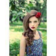 Прически с косами фото