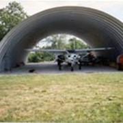 Ангары для технического обслуживания авиатехники фото