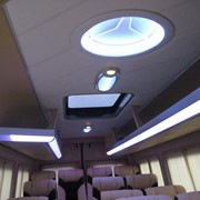 Профиль подсветки на полки салона авто фото