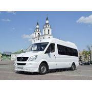 Прокат микроавтобуса 15-20 мест с водителем в минске фото