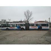 Реклама на маршрутах №54, №83 (снаружи и внутри). фото