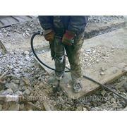 Разрушение ж/бетона японскими молотками фото
