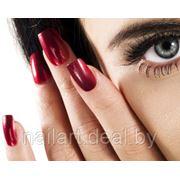 Долговременное цветное покрытие ногтей гель-лаком фото