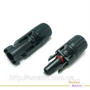 Коннекторы для солнечной батареи и кабеля MC4 Соединители пара фото