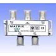 Разветвитель антенный Splitter 4-way HQ 2000MHZ фото