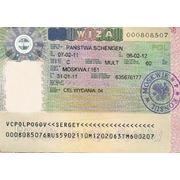 Шенген виза в Польшу фото