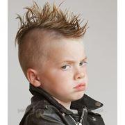 Детская стрижка (до 8 лет) фото