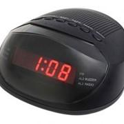 Электронные часы SUPRA CR-318P с будильником и FM радио фото