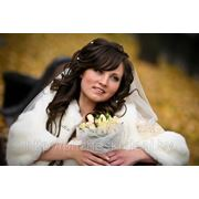 Свадебная прическа 1 фото