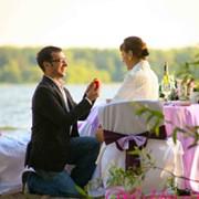 Романтическое предложения руки и сердца фото