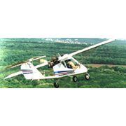 Самолёт Lilienthal X-34 Х-34 трёхместный для пассажиро и грузо-перевозок до 700км с базированием на неподготовленных площадках требующих короткого взлёта и посадки в т.ч.: снежных и водных; патрулирование со спецоборудованием; авиа прогулки и авиатуризм фото