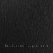 Черный кожзам для сидений и торпедо.Ширина 140 см. фото
