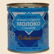 Молоко сгущенное ГОСТ Знаковое ж/б 380 г фото
