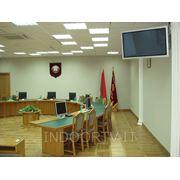 Монтаж оборудования для конференц-залов фото