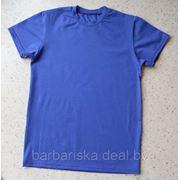 Пошив мужских футболок на заказ из нашей ткани фото