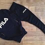 Мужской Спортивный костюм FILA черный фото