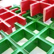 Стеклопластиковые (композитные) решетчатые настилы фото