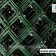 Сетка заборная зеленая фото