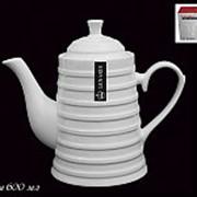 235-022 Чайник 600мл. ЛОТОС в под.уп.(х18)Фарфор фото