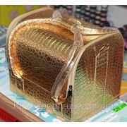 Кейс для косметики Золотой фото