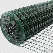 Сетка сварная неоцинкованная с полимерным покрытием фото
