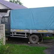 Доставка груза с погрузкой в вашем городе, автомобилем зил-бычек, 3 т, до 16 куб., тент фото
