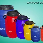 Баки пластмассовые разных цветов фото