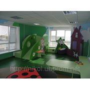 Интерьер детских игровых комнат, залов / Інтер'єр дитячих ігрових кімнат, залів фото
