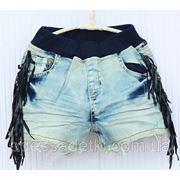Стильные джинсовые шорты фото