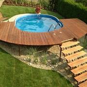 Открытые деревянные террасы фото
