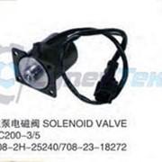 Соленоид (электромагнитный клапан) Komatsu PC200-3/5 p/n 708-2H-25240 708-23-18272 фото