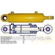 Гидроцилиндр ГЦ-80.50.250.0.40.00 применяется на мусоровозах ГАЗ, ЗИЛ, КАМАЗ фото