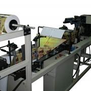 Автомат для производства пакетов ДОЙ-ПАК до 1л - 50-60уп/мин фото