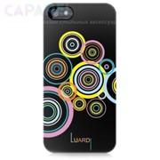 Чехлы Luardi Snap-on Decorative Back Covers для iPhone 5/5s (Circles - Black) фото