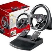 Руль Genius Speed Wheel 5 PC/ PS3 Гарантия: 12 мес. Производитель: GENIUS В упаковке: 8 шт. фото