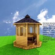 Вироби з дерева. Вікна, двері. Альтанки, бєседки, бані, сауни, будинки та інше. фото