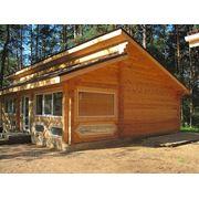 Изготовление домов из профилированного бруса(сосна) фото
