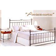 Кованая кровать Анжелика фото
