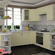 Кухня София Романтика ваниль фото