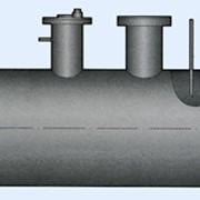 Емкость для хранения конденсата и слива теплоносителя из подогревателей 6,3 м3 фото