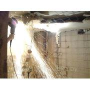 Разрушение блок комнаты в санузле, перепланировка санузла, совмещение фото